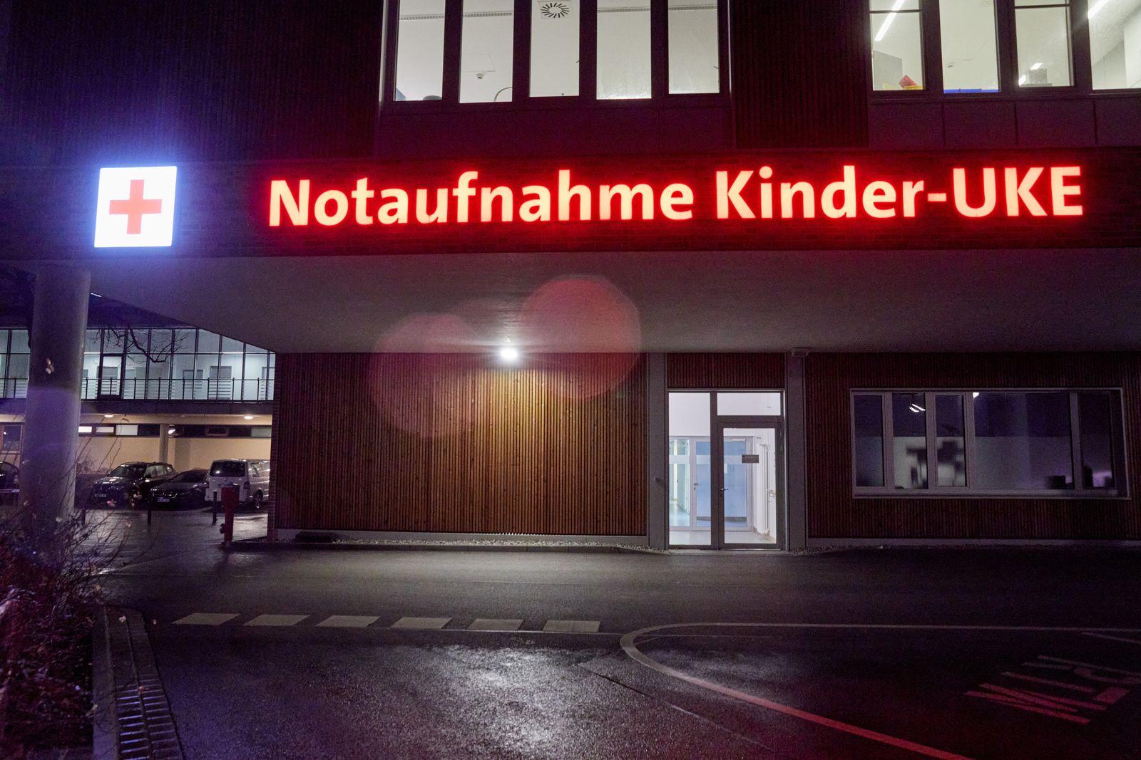 Corona-Virus Hamburg Kinder-UKE Eppendorf Krankenhaus
