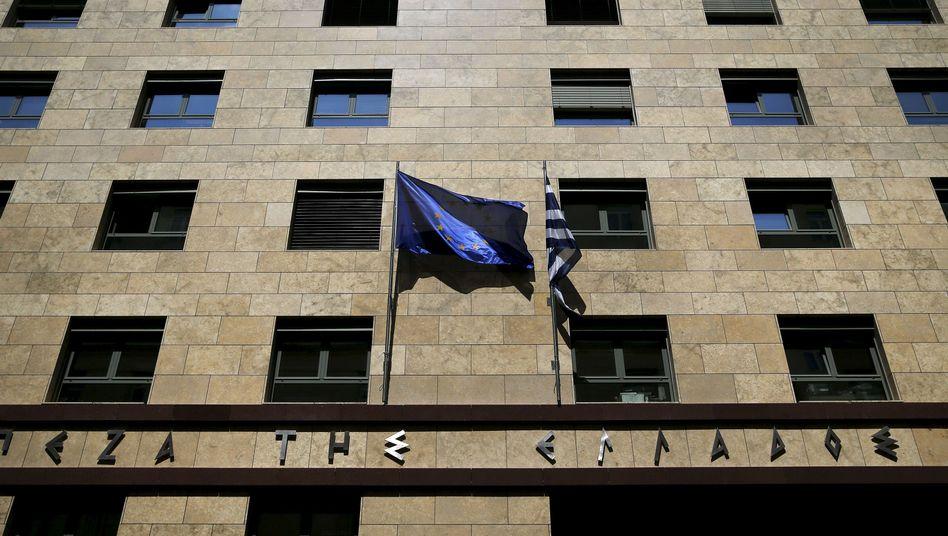 Griechische Notenbank: Der Abschlag auf Sicherheiten für ausgereichte Notkredite an griechische Banken soll steigen. Hellas-Banken kämen damit schlechter an Notkredite der EZB