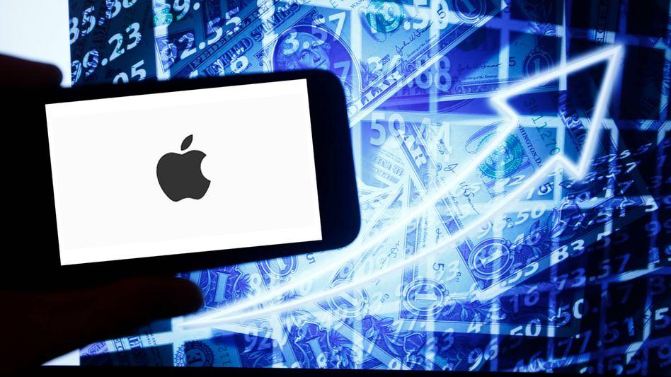Der Börsenstar Apple verdient immer noch das meiste Geld mit iPhones, doch die Gewichte verschieben sich allmählich