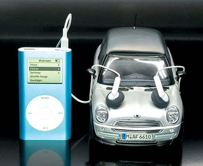 iPod-Musik ab Werk: BMW Mini iPod-Interface