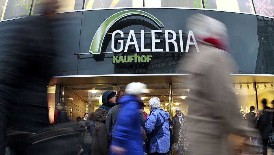 Kaufhof-Filiale in Frankfurt am Main: Metro will Kaufhof nun selbst wieder auf Vordermann bringen