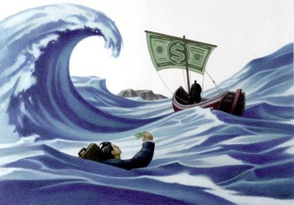 Unternehmen in Not: Die Finanzierungsmöglichkeiten dürften sich verschlechtern