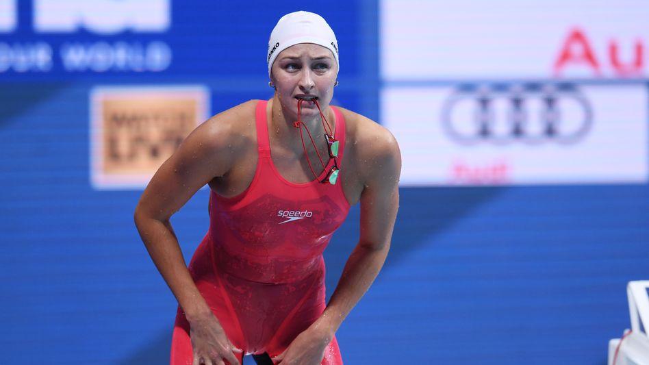 Systematisch gedopt: Die Olympischen Sommerspiele in Tokio werden ohne Schwimmerin Veronika Andrusenko und ohne die russische Mannschaft stattfinden