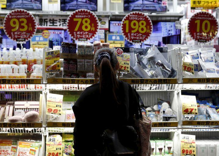 Schreckensbild Japan: Deflation ist nicht so leicht in den Griff zu bekommen wie Inflation