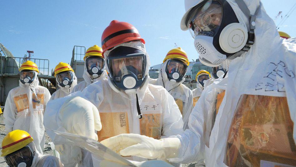 Japan: Havarierter Atomreaktor Fukushima bisher nicht unter Kontrolle