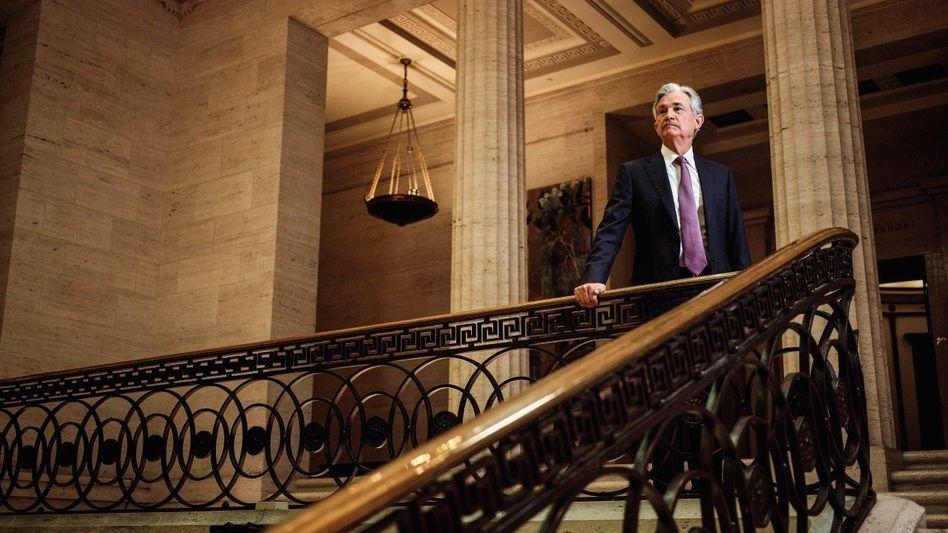 Wertwächter: Als Chef von Amerikas Fed ist Jerome Powell der mächtigste Notenbanker der Welt. Gegen die Inflation von zuletzt 5,4 Prozent in den USA kann er gerade wenig machen.