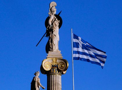 Geld her: Die Griechen bitten erstmals um Überweisung