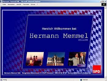 Strotzt vor Selbstbewusstsein: Hermann Memmel