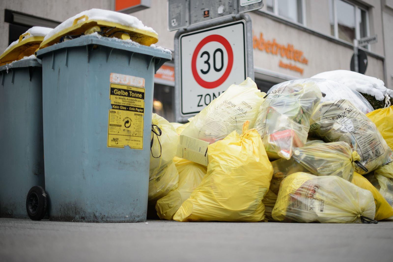 Müllsäcke Gelber Sack