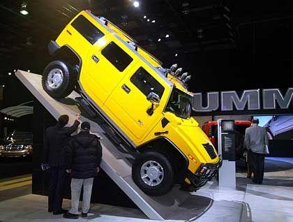 Probleme mit der Bremskraft: Hummer H2 von General Motors