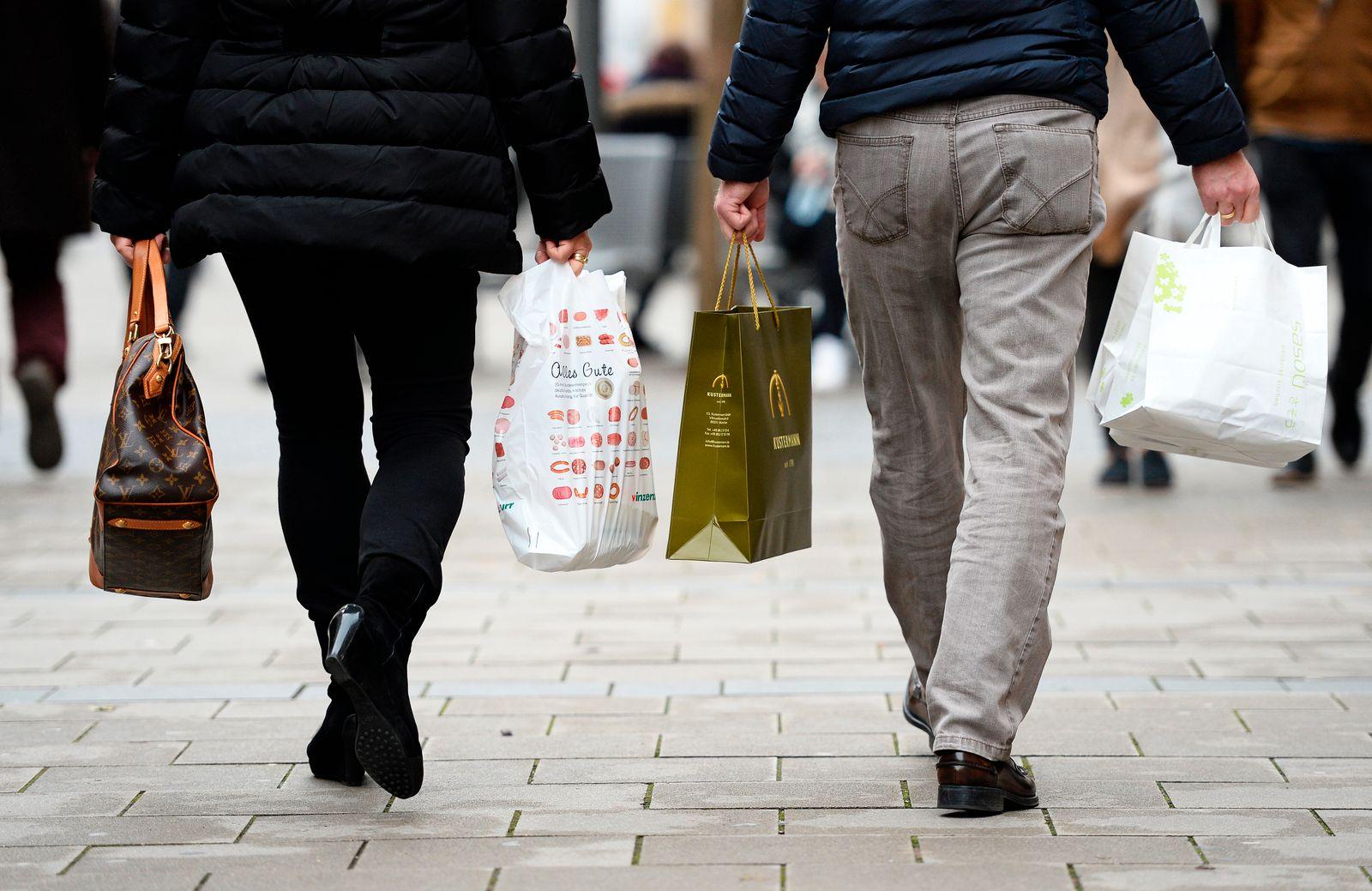 Deutschland / konjunktur / Konsum / Einkaufen / Shoppen / Kaufen
