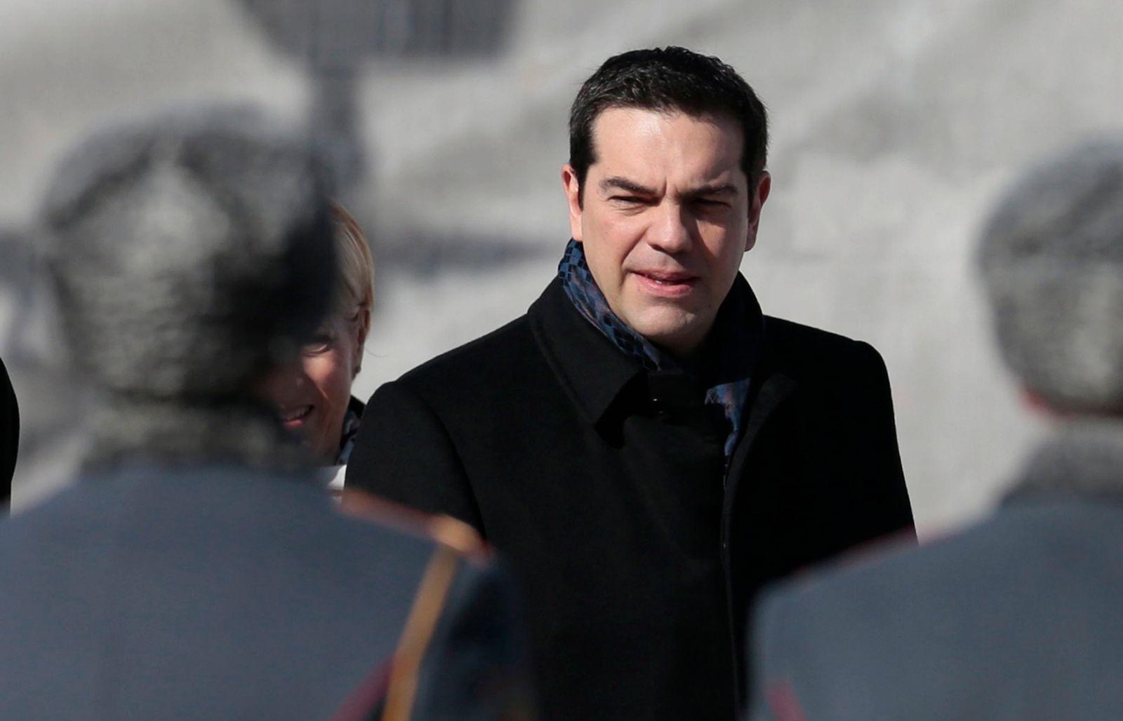 Alexis Tsipras in Moskau