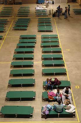 Zuflucht für die Opfer: Notunterkünfte in Fort Pierce