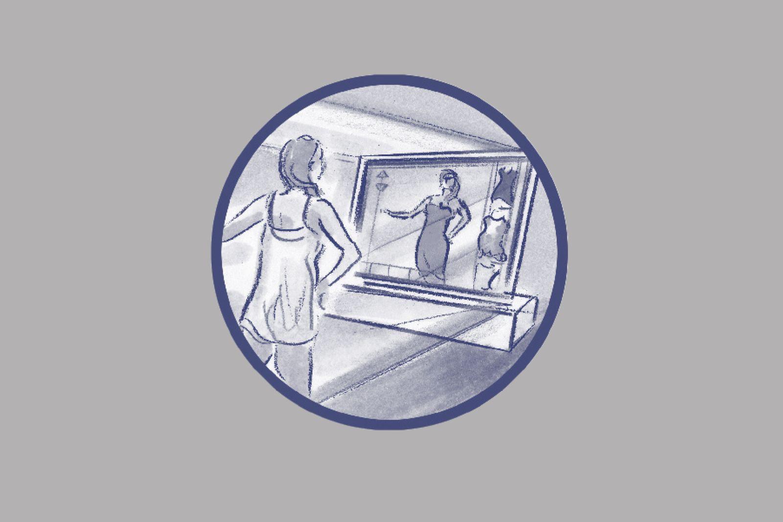 EINMALIGE VERWENDUNG ILLUSTRATION / Wie wir uns morgen bewegen werden / 23 Der digitale Maßschneider