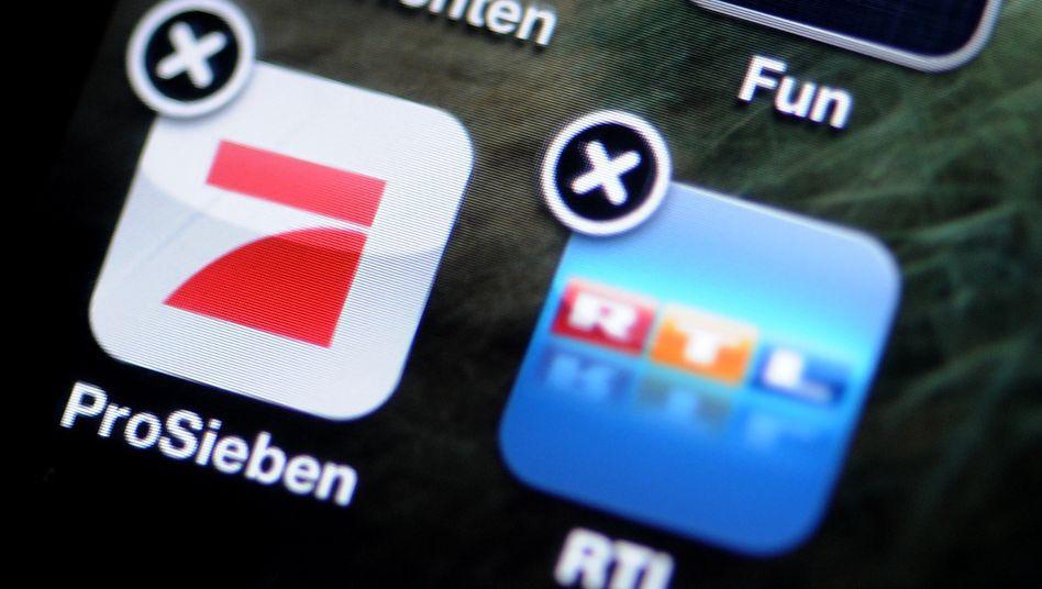 Zwei Sender, keine Plattform: RTL und ProSiebenSat.1 tun sich digital schwer