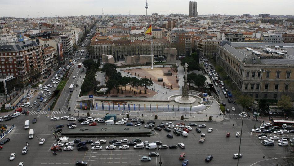 Plaza Colon in Madrid: Spanins Regierung plant Milliardeninvestment