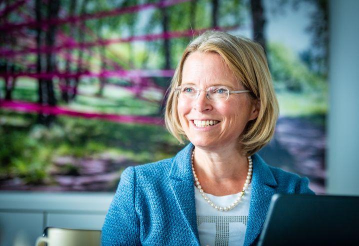 Birgit Bohle ist Personalvorständin bei der Deutschen Telekom und oberste Klimabeauftragte