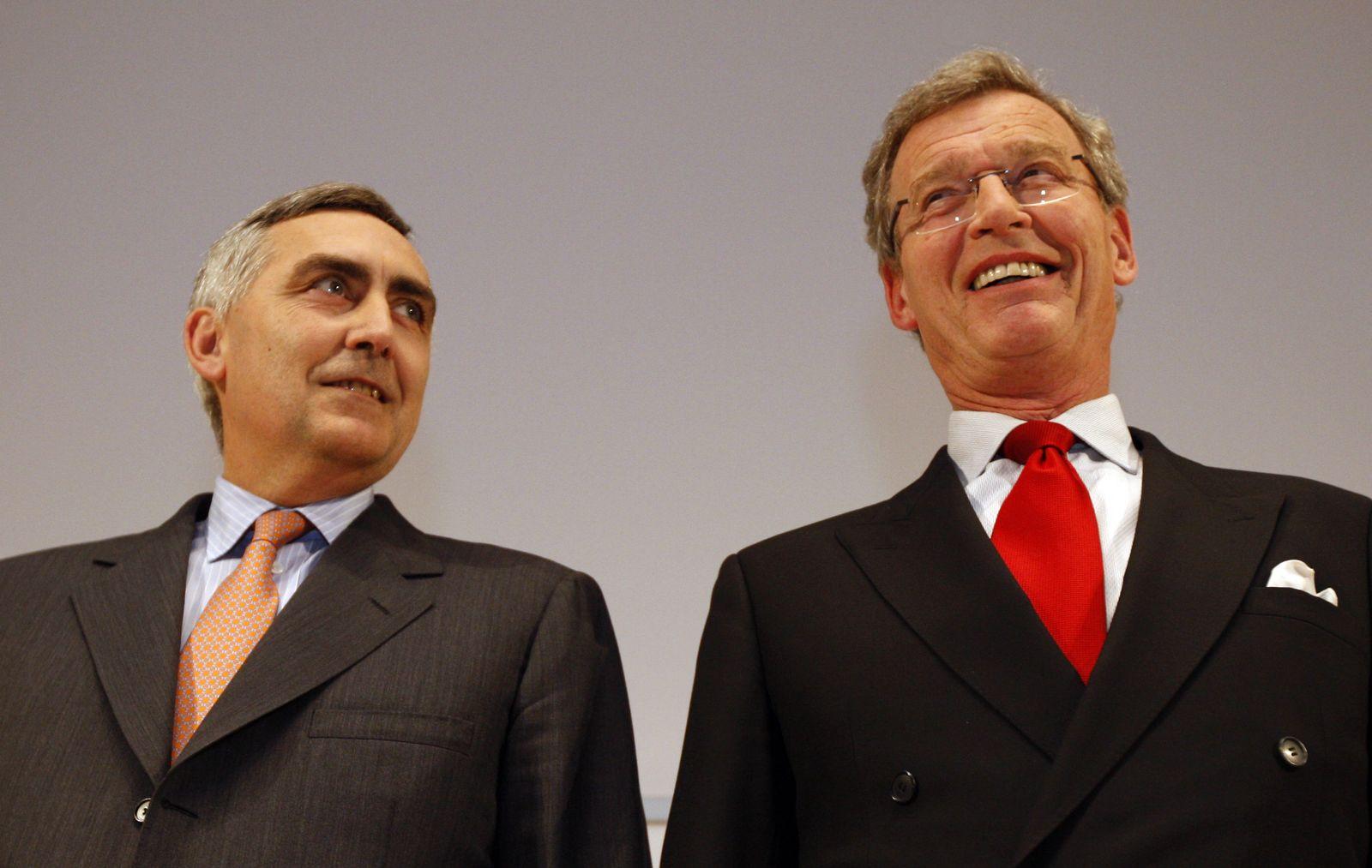 Peter Loescher, Gerhard Cromme