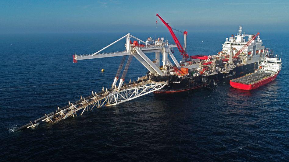 Gaspipeline Nord Stream 2 in der Ostsee: Die USA mischen sich in die deutsche Energieversorgung ein