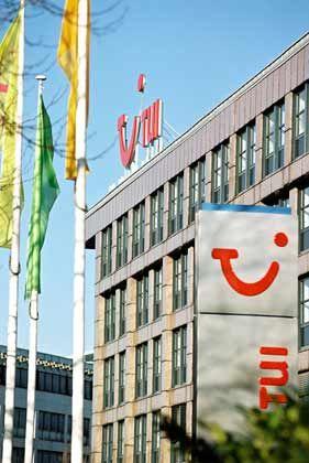 Rotstift statt Reisespaß: In der Tui-Zentrale in Hannover muss gespart werden