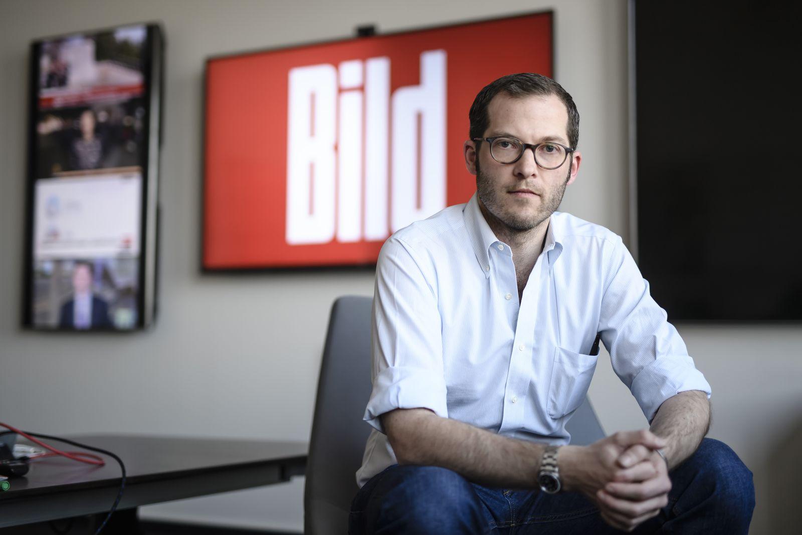Julian Reichelt appointed as Chairman of BILD chief editors, Berlin, Germany - 10 Feb 2017