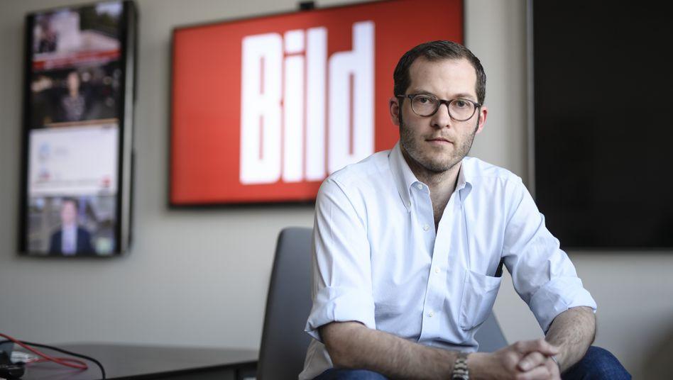 """Betreuungsintensiv: """"Bild""""-Vorkämpfer Julian Reichelt"""