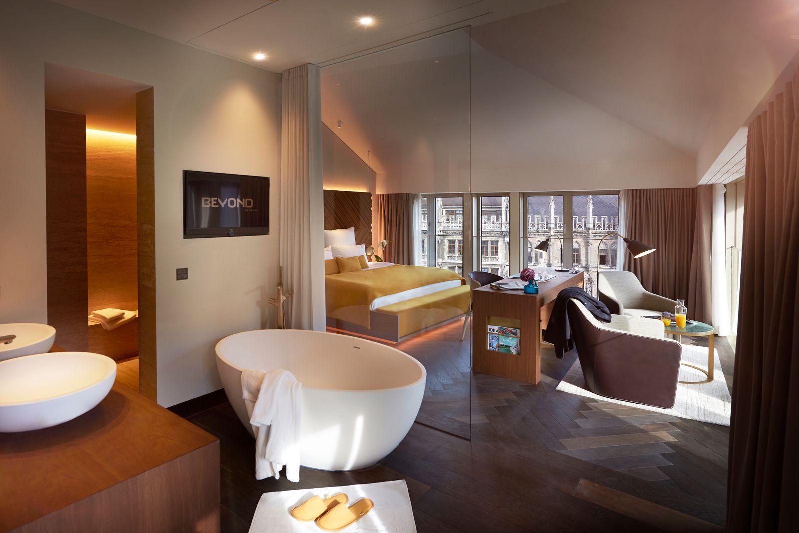 Hotel Beyond by Geisel / München / Zimmer Kategorie U