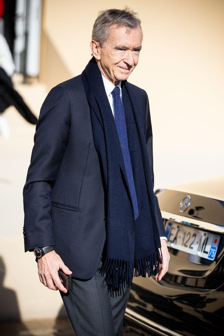 Ledertaschen, Schmuck, Champagner: Mehr als 75 Marken zählen zu Bernard Arnaults Luxuswelt