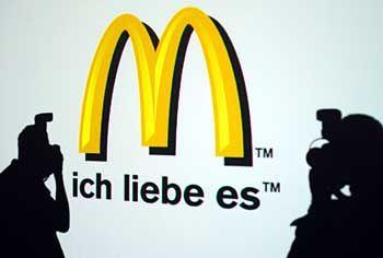 Werbung von McDonald's Werbung: Jetzt mit deutschem Slogan