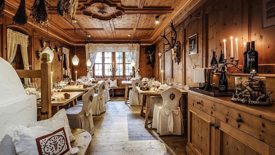 STUBENHOCKER Der Raum: klassischer Bayern-Look. Der Teller: Allgäuer Avantgarde-Kitchen.