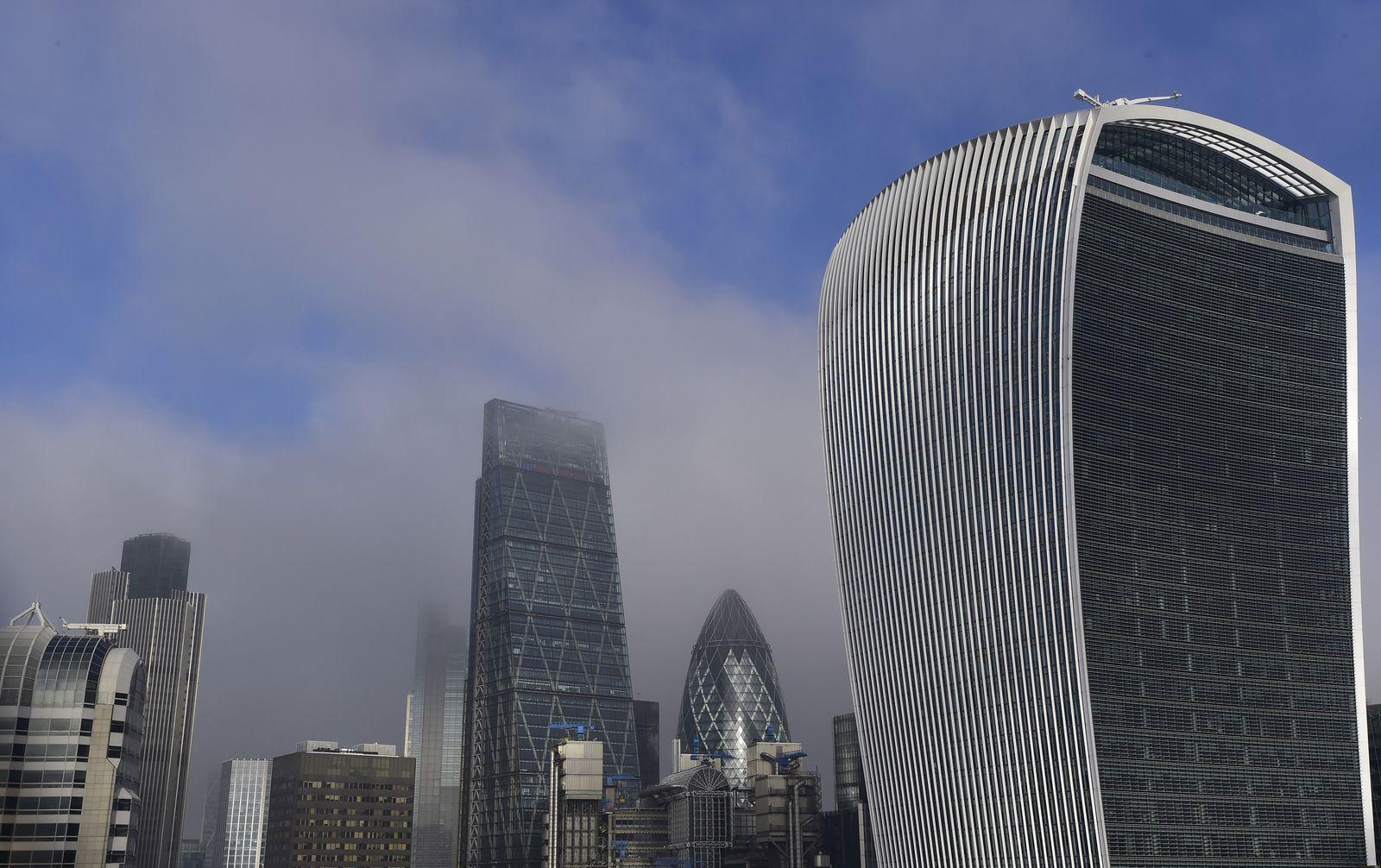 London / Skyline / Finanzdistrikt