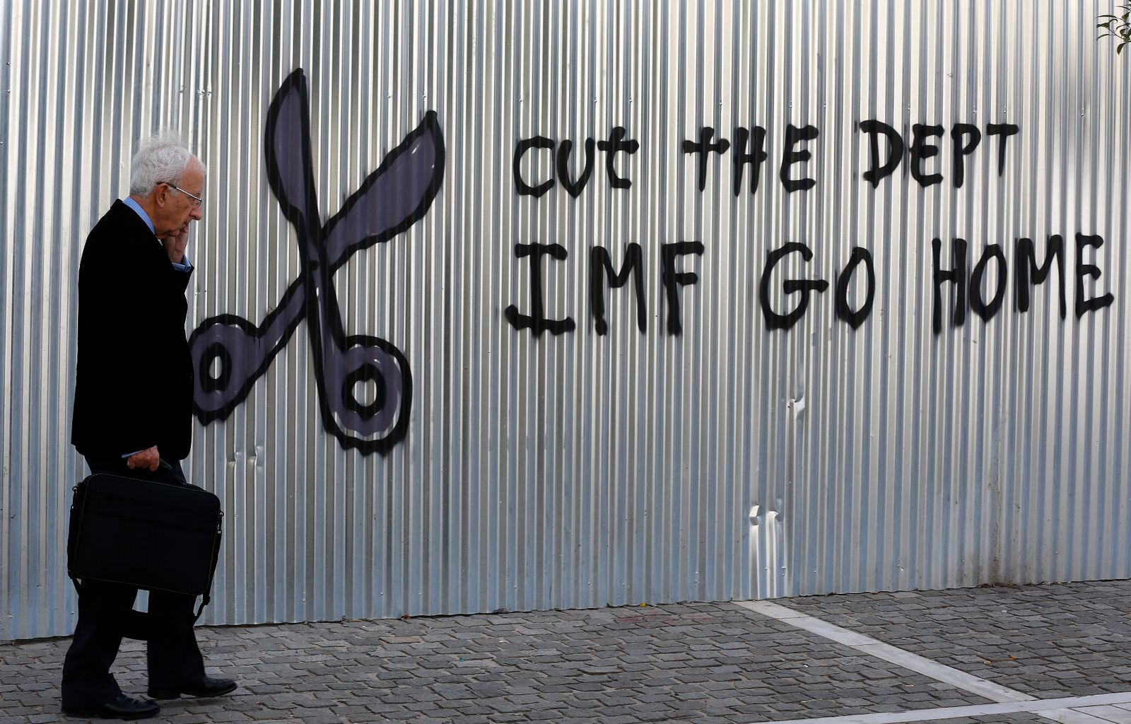 IMF raus / Athen