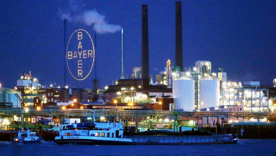 Werke der Bayer AG in Leverkusen: Der wertvollste Dax-Konzern sortiert sich neu