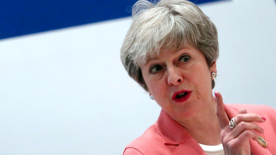 Theresa May: Die britische Regierungschefin will den Weg für einen Aufschub des Brexit frei machen