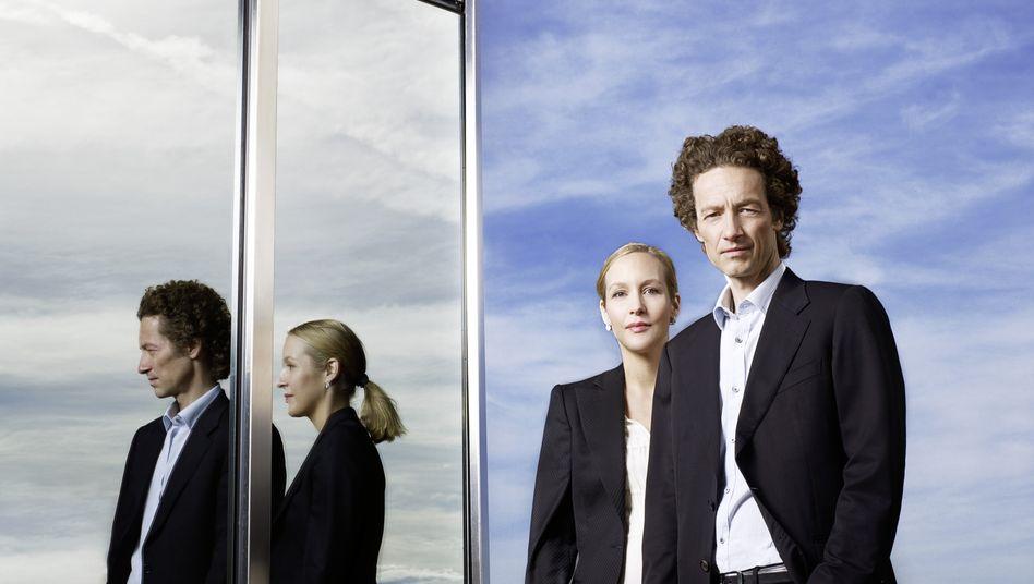 Gehen künftig mehr nach draußen: Gründerkinder Meike und Lars Schlecker