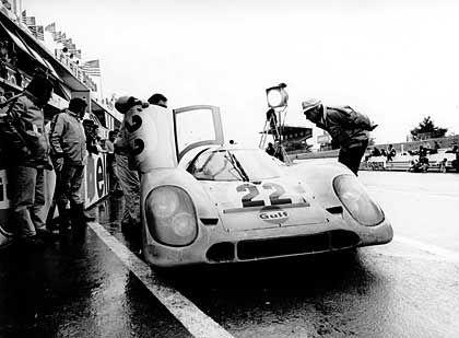 Porsche 917 im Renneinsatz: Auch außerhalb der Leinwand fast unschlagbar