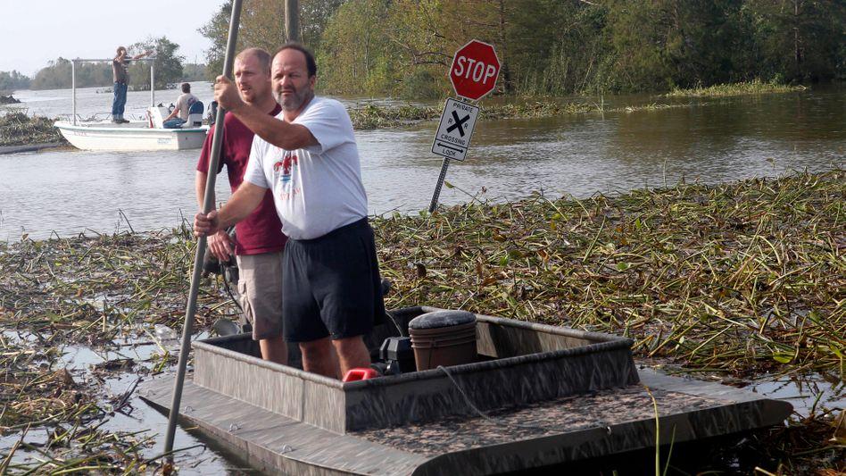 Flutschäden in Louisiana: Hurrican Isaac war für die Versicherer bislang der teuerste Wirbelsturm der laufenden Saison