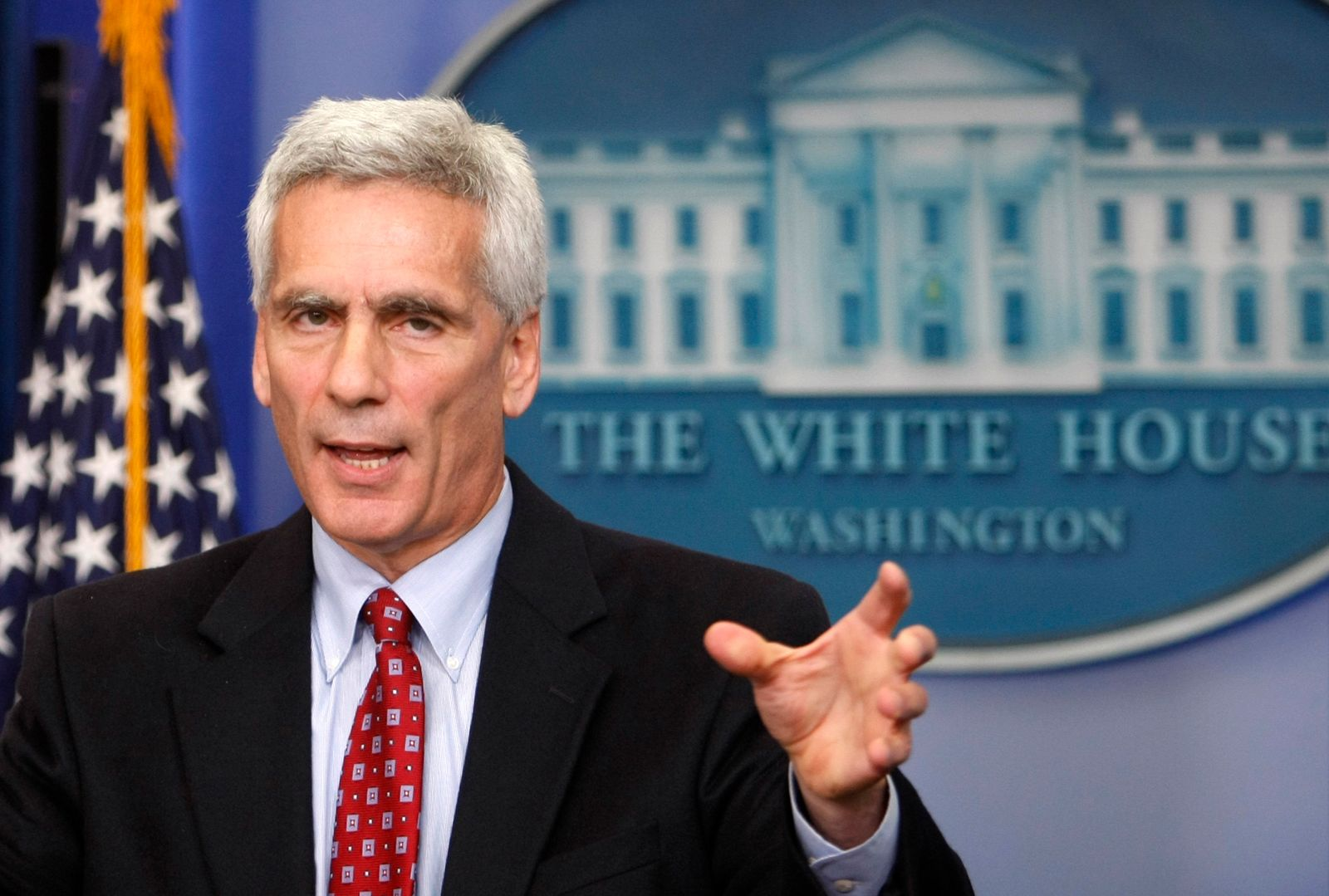 Bernstein, chief economic advisor to U.S. Vice President Biden, speaks during press briefing in Washington