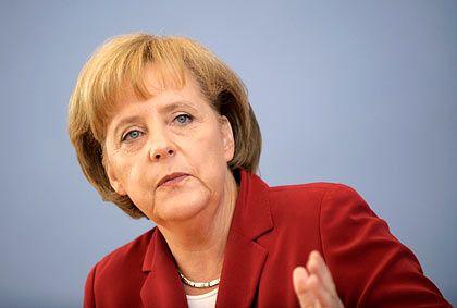 Angela Merkel: Die Bundeskanzlerin will Bankmanager zur Haftung heranziehen