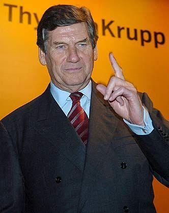 Klare Richtung:ThyssenKrupp-Chef Schulz