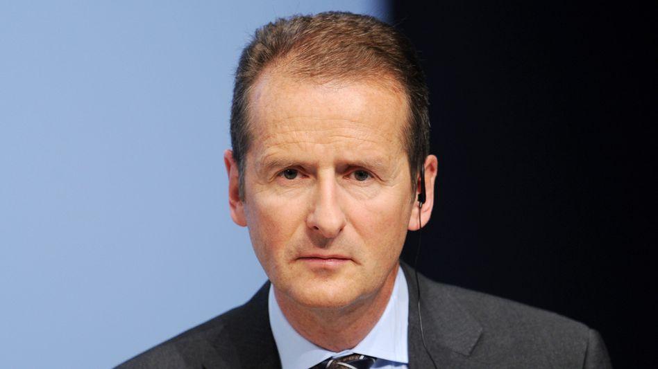 In der Kritik: Das Haus von Volkswagen-Chef Herbert Diess wurde beschmiert