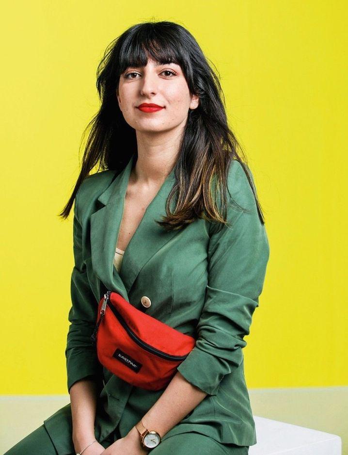 Codeknackerin: Aya Jaff weiß, wie die Erfolgsformel geht: Sie wurde bekannt als das Mädchen, das coden kann, und schuf daraus ihre eigene Marke