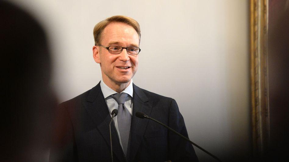 Bundesbankpraesident Jens Weidmann: Seine Experten empfehlen die Rente mit 69 und erwarten deutlich steigende Rentenbeiträge