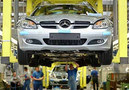 Mercedes-Fertigung:SLK-Montage in Bremen