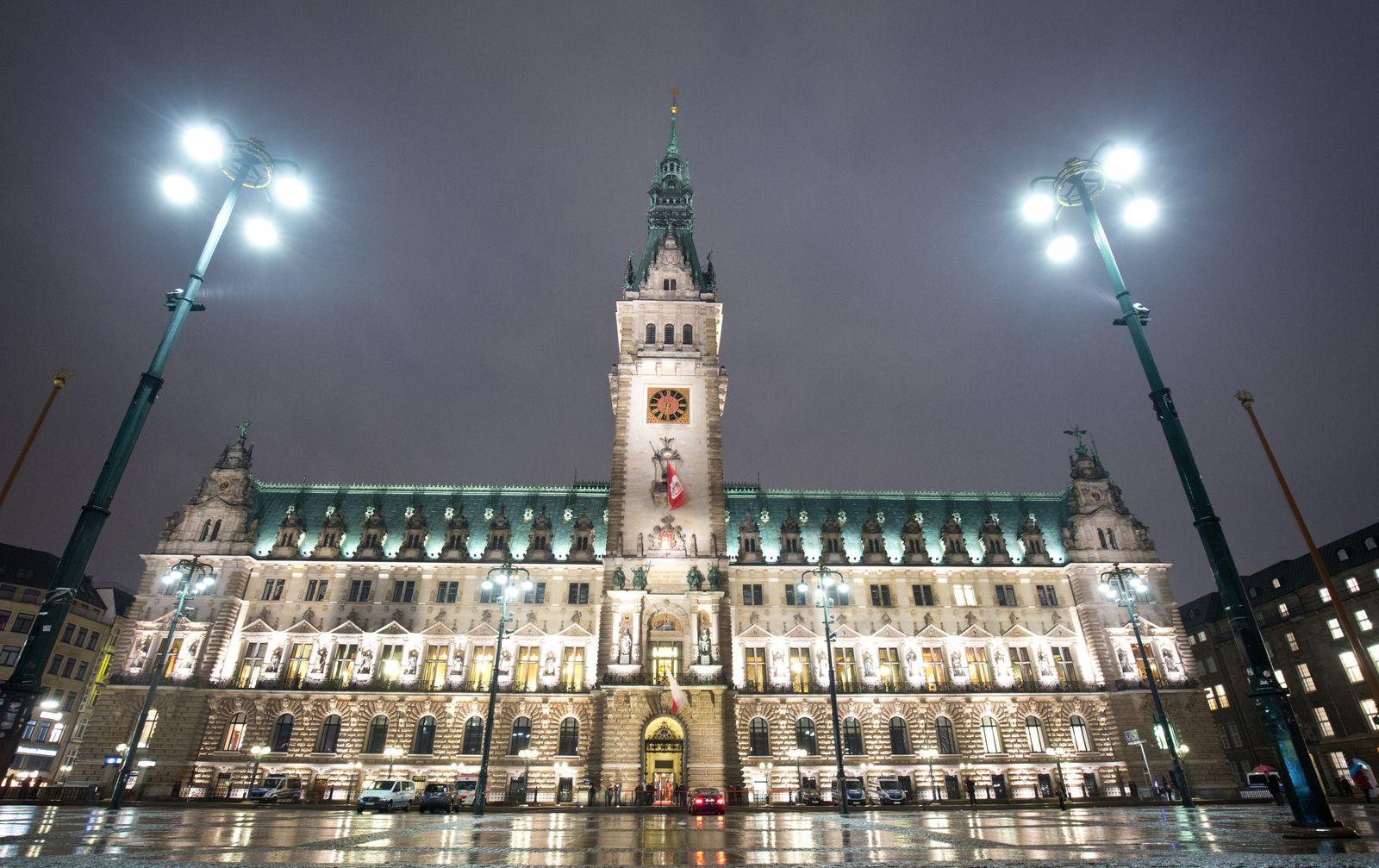 Konstituierende Sitzung der Hamburgischen Bürgerscha