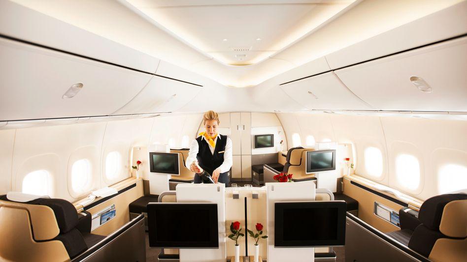 Willkommen an Bord: First Class in der Lufthansa
