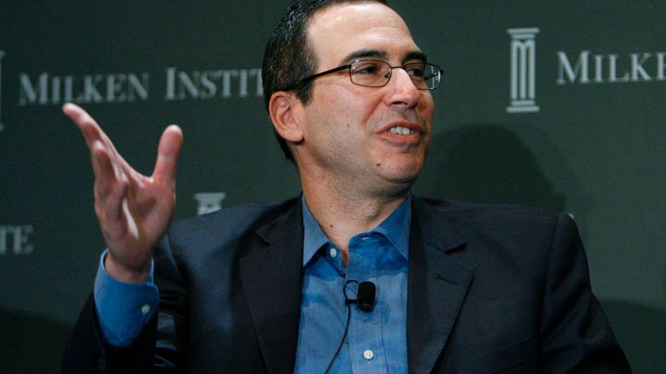 Steven Mnuchin: Nach eigenen Angaben der neue US-Finanzminister