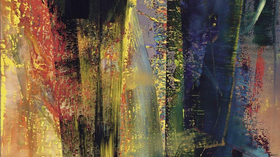"""46303719 US-$""""Abstraktes Bild"""", 1986 (CR 599)Gerhard Richter Den Rekordpreis für das drei Meter hohe Werk des aus Dresden stammenden und in Köln lebenden Künstlers erzielte Sotheby's am 10. Februar 2015 bei der Londoner Abendauktion."""