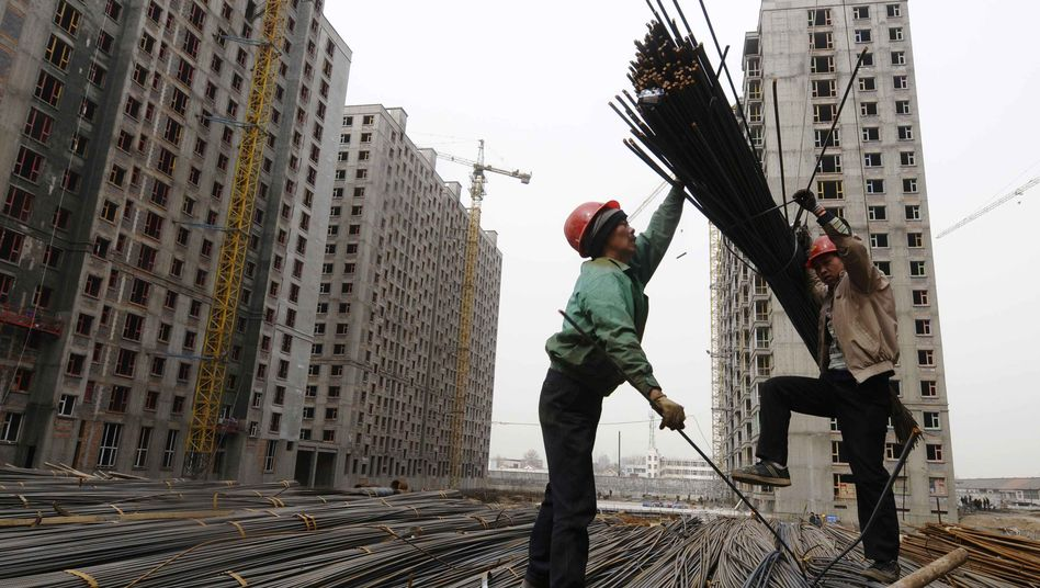 Unter Druck: Chinas Wirtschaft wächst langsamer
