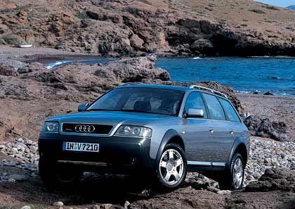 Vor der Ablösung: Audi allroad quattro